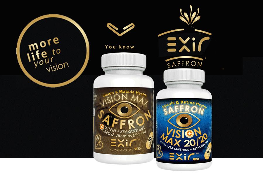 Saffron & Zeaxanthin for Eye Health