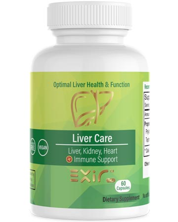 Liver Kidney, Heart, Immune Support supplement