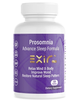 Prosomnia Advance Sleep Formula, Restore Natural Sleep Pattern, 120 Tablets