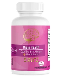 Brain Health Cognitive, Brain, Memory + Mental Health Supplement 60 Capsules