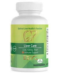 Liver Care - Liver Kidney Heart + Immune Cardiovascular Support Supplement 60 Capsules