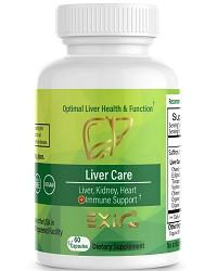 Liver Care - Liver, Kidney, Heart & Immune Support, 60 Capsules