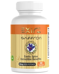 Saffron + Saffron Extract Supplements, 180 Tablets