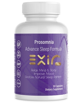 Prosomnia Advance Sleep Formula, Restore Natural Sleep Pattern, 30 Capsules
