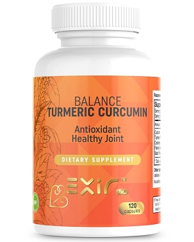 Balance Turmeric Curcumin Antioxidant Healthy Joint Supplement 120 Capsules