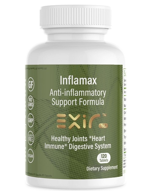 Inflamax Anti-inflammatory Joint Support, 120 Tablets