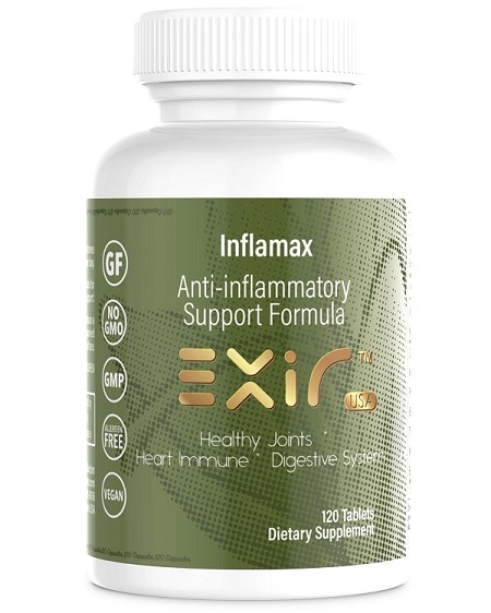 Inflamax  Anti-inflammatory Supplement, 120 Tablets