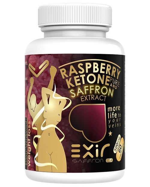 Raspberry Ketones Plus + Advanced Antioxidant & Saffron Extract